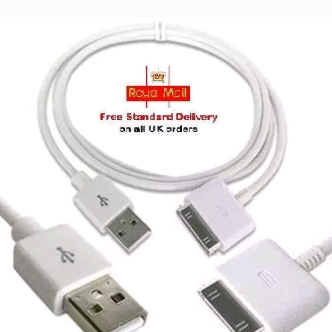 B2G1 Free USB Charger Data Cable for Apple iPod Touch 2G 3G 4G 2nd 3rd 4th Gen