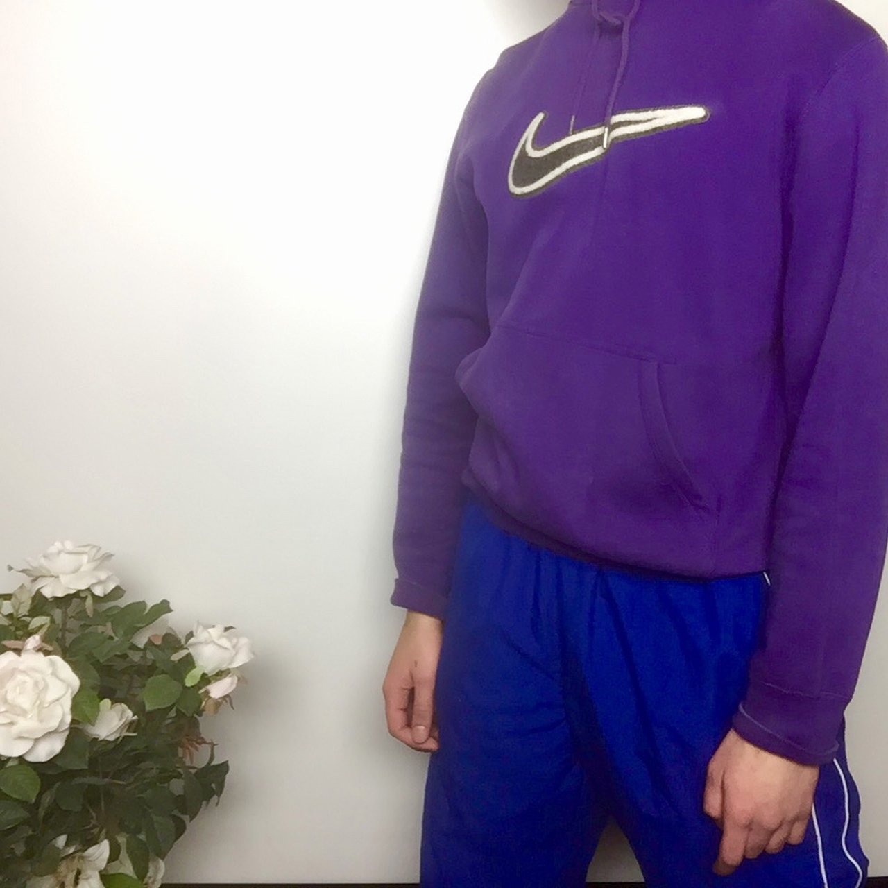 22eb1a96ff9 Men s Purple Nike Hoodie Size  M Do you ever go to the store - Depop