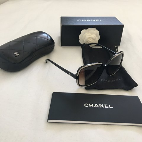 9069158116 Selling for my wife. 100% genuine Chanel sunglasses. These - - Depop