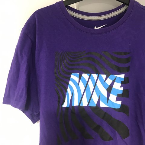 e79a55a5734a Nike Vintage Purple T-Shirt Men s Medium In good suitable - Depop