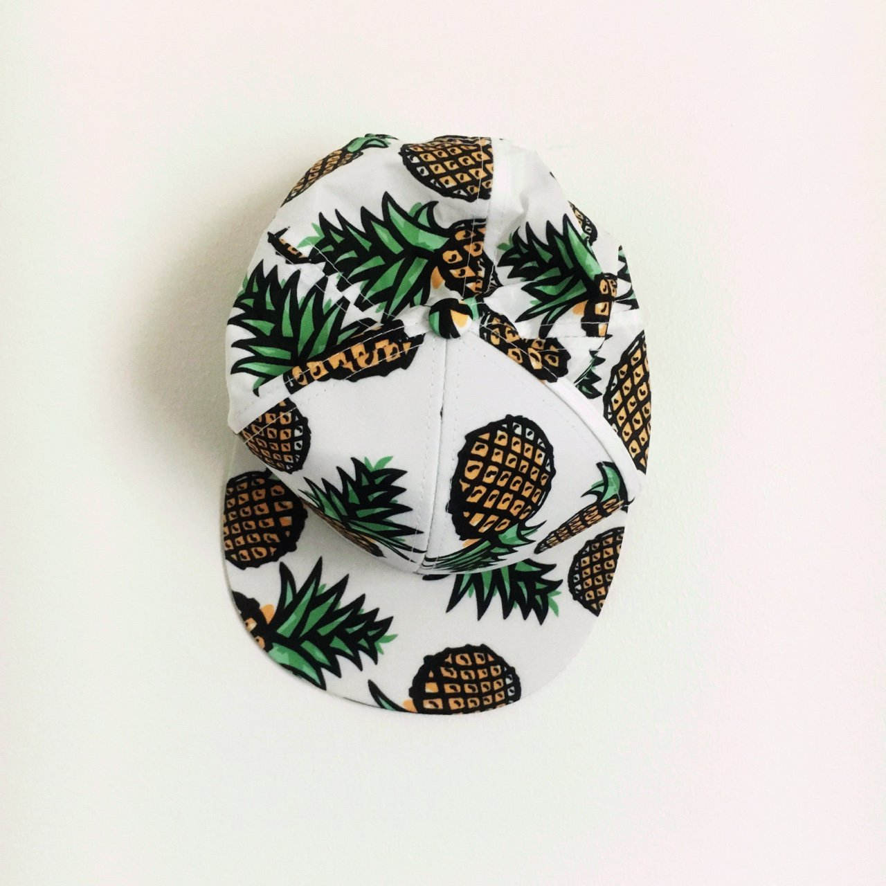 Pineapple snapback hat. Great condition! Free  snapback  hat - Depop a9f21f899c3