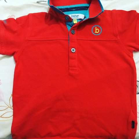 a147a7245b19 Ted baker boys polo shirt amazing condition 18-24 months - Depop