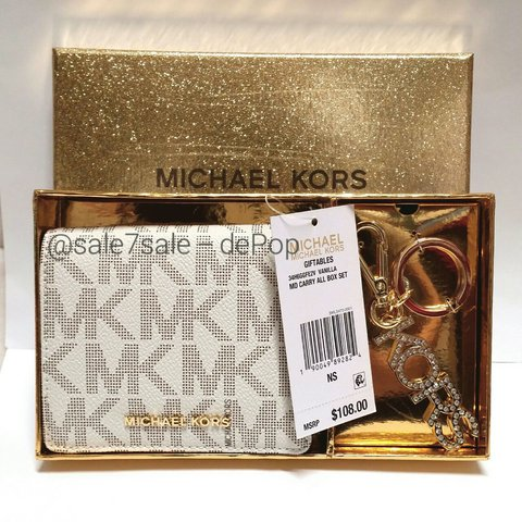 04f88d4ab25e @sale7sale. last year. United States. ❤MK Boxed Holiday Gift Set Bundle  Wallet / Coin Change ...