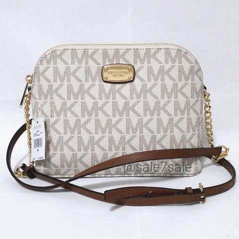 14a67f7f3b69fb @sale7sale. last year. United States. NWT MK Cindy Dome Crossbody Bag  Vanilla