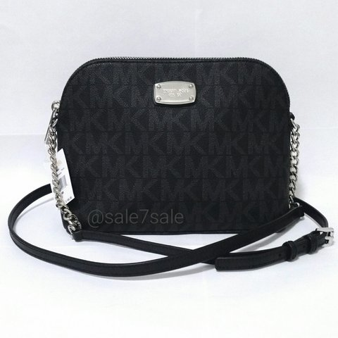 ac3f7b47ec712a @sale7sale. last year. United States. NWT MK Cindy Dome Crossbody Bag Black