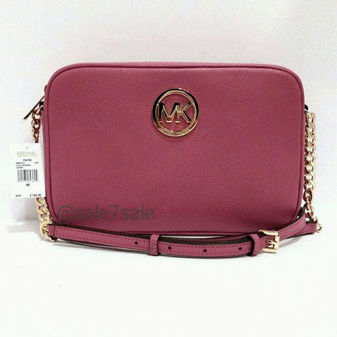 863d2ab8558c MK Fulton Logo Leather xbody purse bag 🔴🔴🔴⚠PRICE IS ANY - Depop
