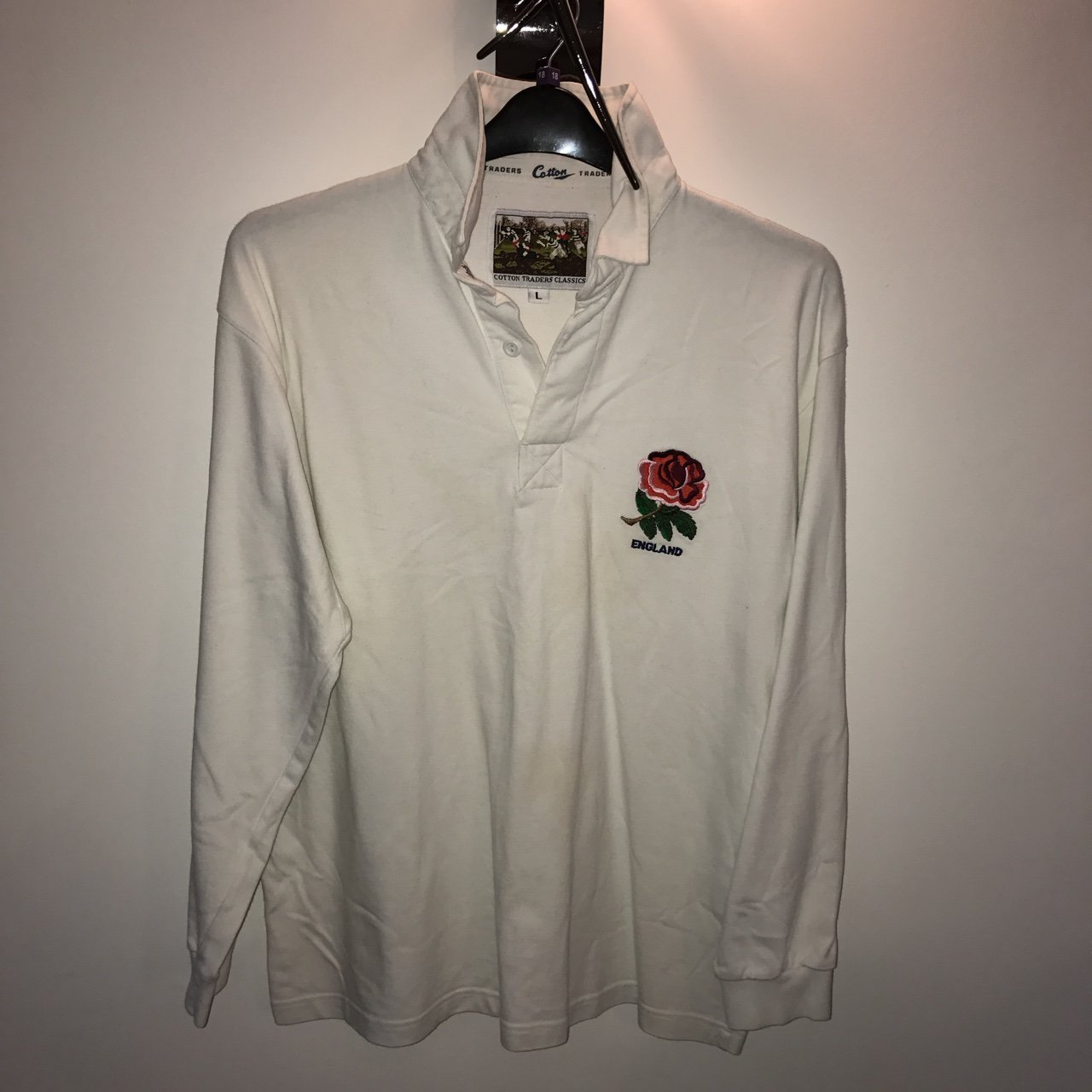 93343001075 England Rugby Shirt Cotton Traders – EDGE Engineering and Consulting ...