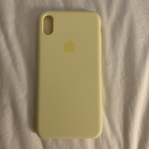 big sale 32795 ac9cd Brand new iPhone XS Max case in mellow yellow,... - Depop