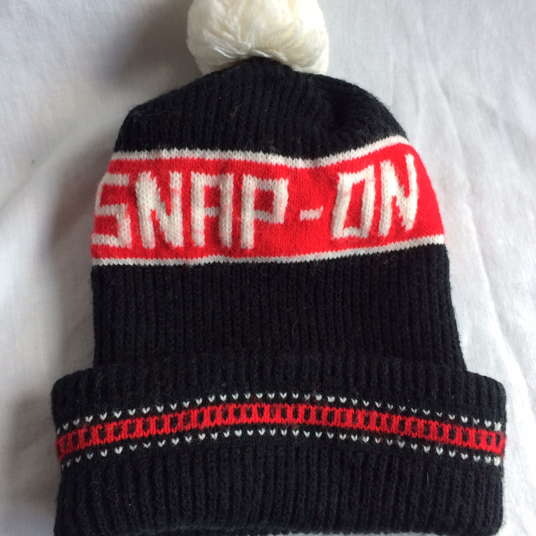 2f19b98b4 Vintage Snap-On Tools Winter Cap Beanie. This beanie... - Depop