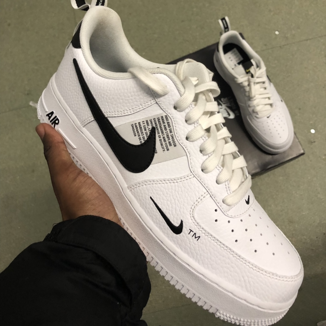 sold Utility 1 Depop Nike Air AF1 White Force Completely