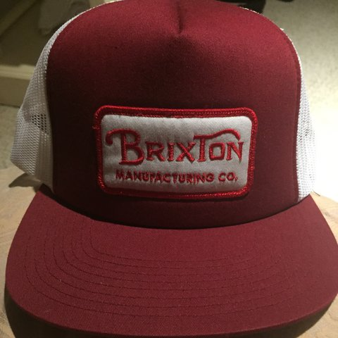 b997235b @annalydia2017. 2 years ago. Bournemouth, United Kingdom. Mens Brixton  grade mesh SnapBack cap, white/burgundy.