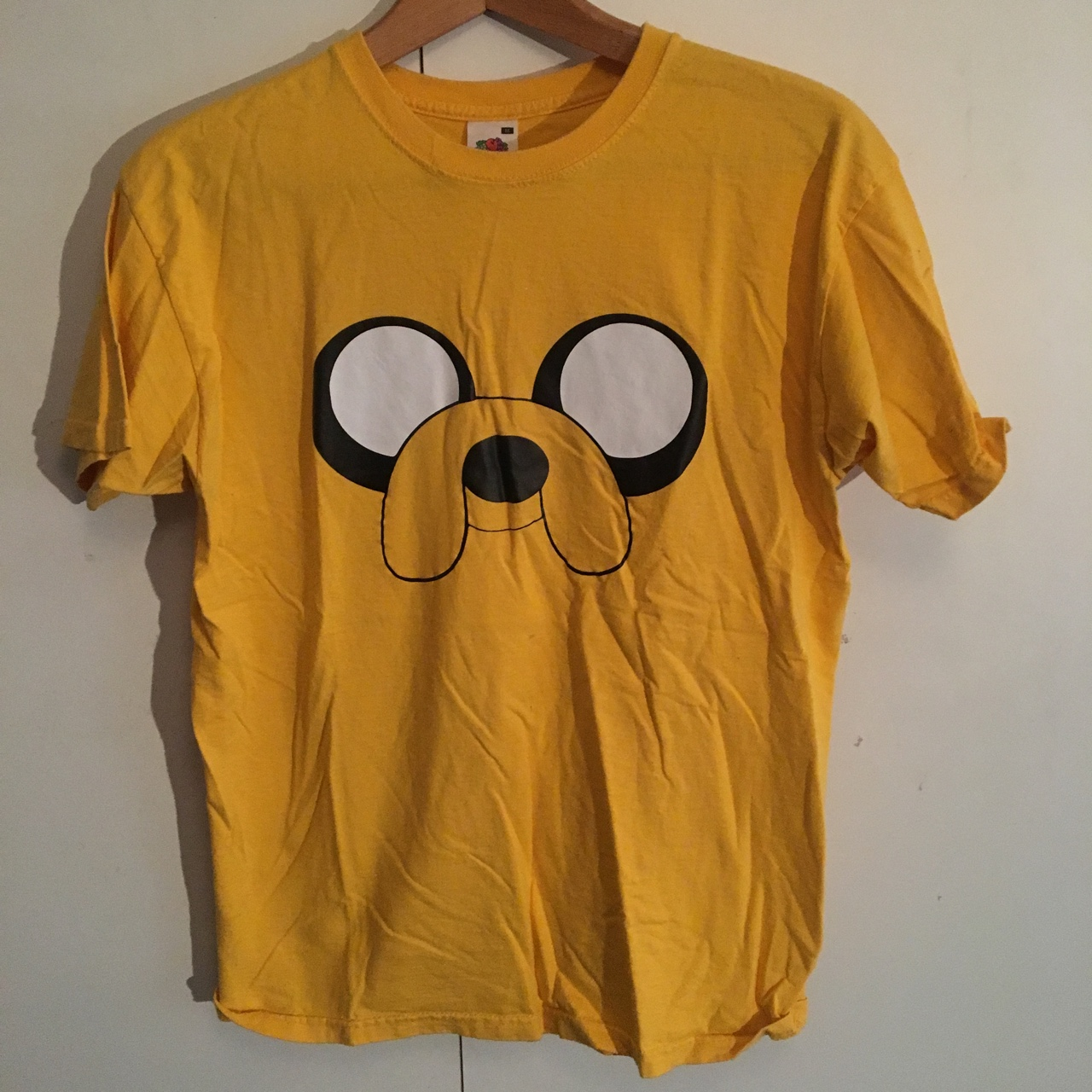 ecd26988c Adventure time jake the dog tshirt Tags finn the... - Depop