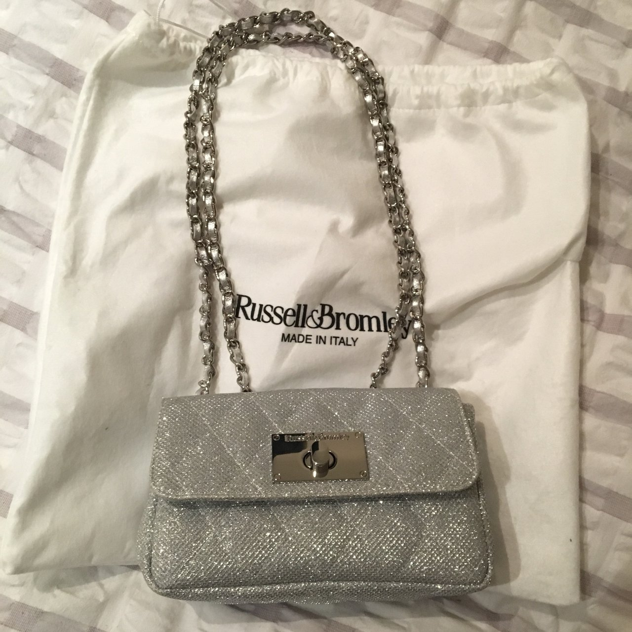 fa3573d0d480 Russell Bromley handbag used once