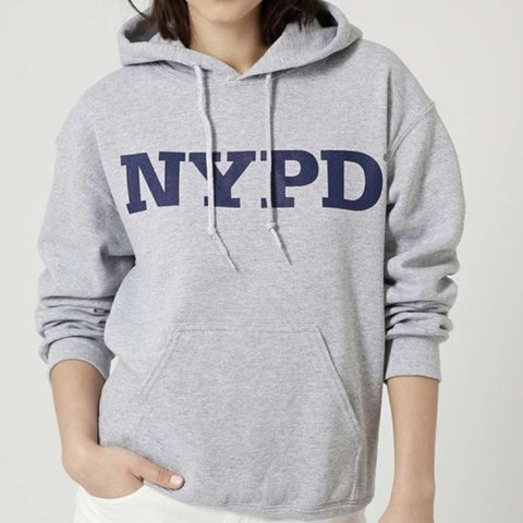 eee955427 @liaavanzato. 5 months ago. Pinner, United Kingdom. TOPSHOP (TEA AND CAKE) NYPD  HOODIE in grey. ...