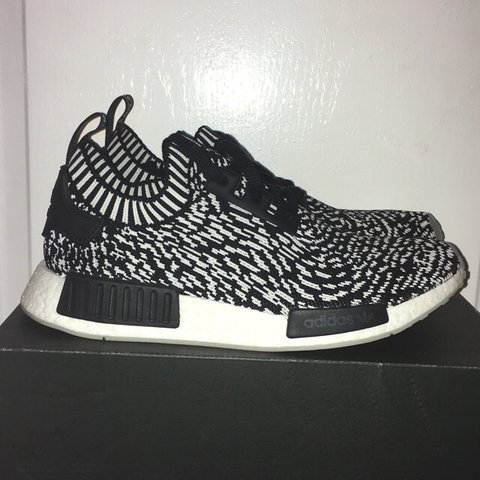 3265c8a70 Adidas NMD R1 Sashiko Bought for £150 Size 9 10 10 only worn - Depop