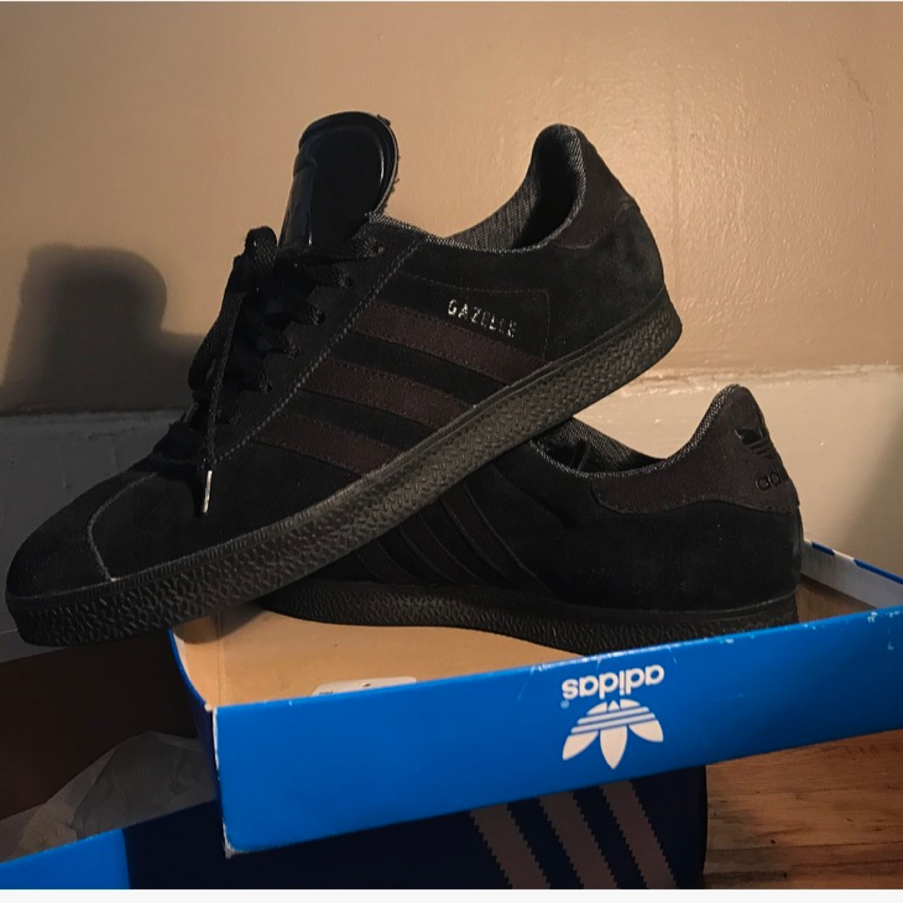 Adidas Gazelle II(Black Pack.) Like new condition. Depop
