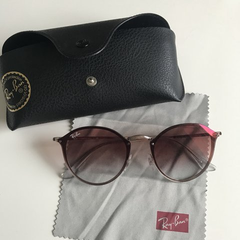 65a75b5afe Genuine authentic pink   rose Ray-Ban sunglasses. Bought a a - Depop