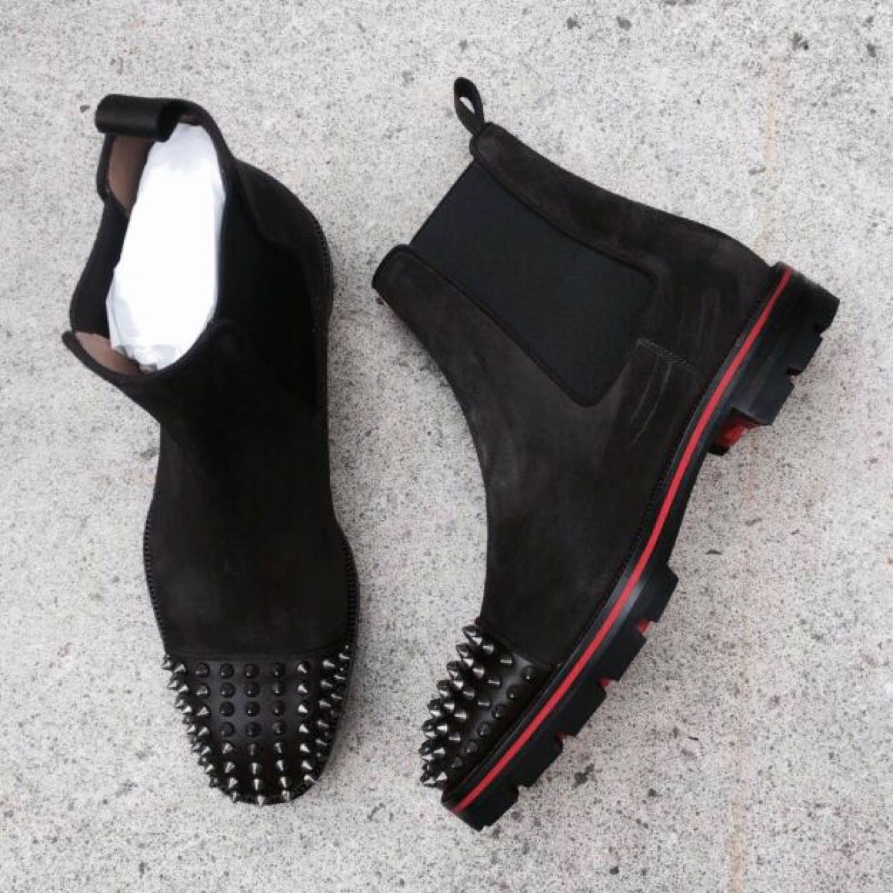 buy popular 20fda c253c Brand new boxed Christian Louboutin Melon Spikes.... - Depop