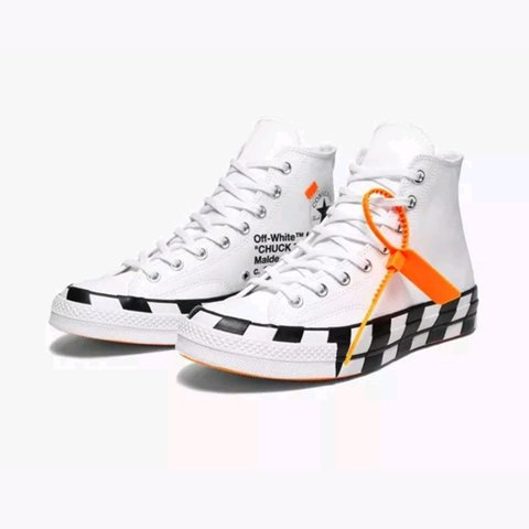 8a45f473c127 Brand New Converse X Off White - Chuck Taylor 70 - UK White