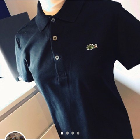d37acc6f95 @paulanderson30. 2 years ago. Dundee, United Kingdom. Men's black Lacoste  polo shirt🔥 Condition: brand new never wore