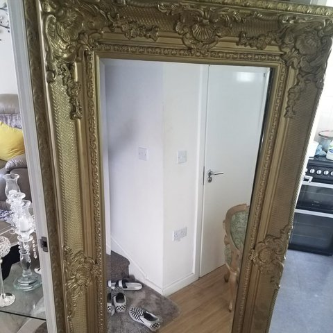 Floor Mirror Bought Very Expensive Im Selling Because I No Depop