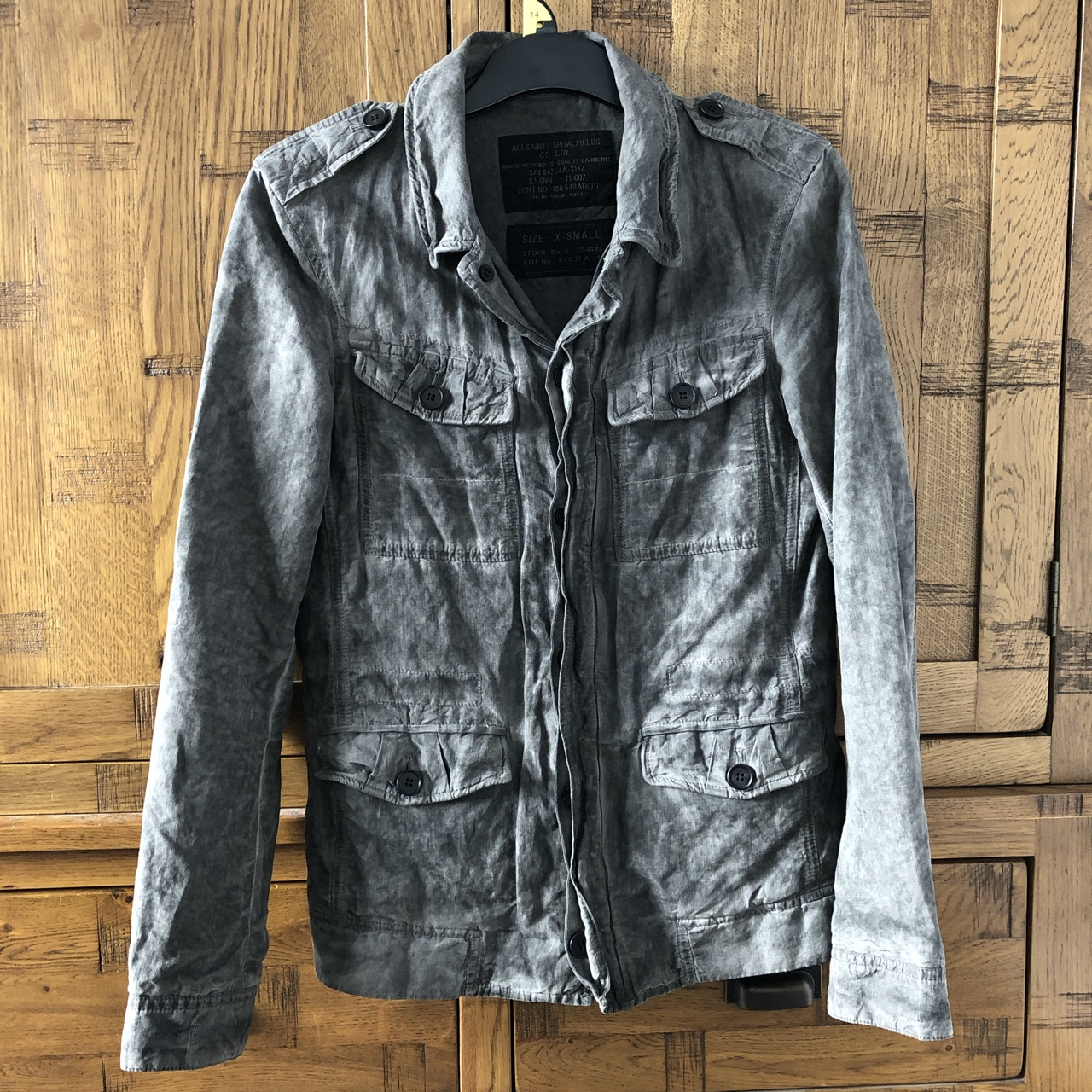 All Saints Xs Men's Jacket/Overshirt 9/10 Condition by Depop