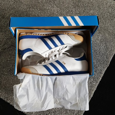 27696fdda58 Adidas originals: Rom Trainer Uk:8 Good clean trainer. Worn - Depop