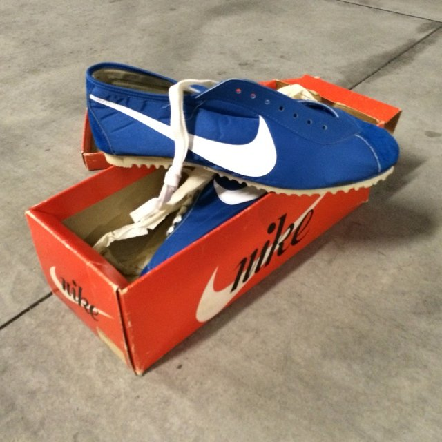 a9bee9eae3a Original pair of Nike Marathon! These shoes are 41 years of - Depop