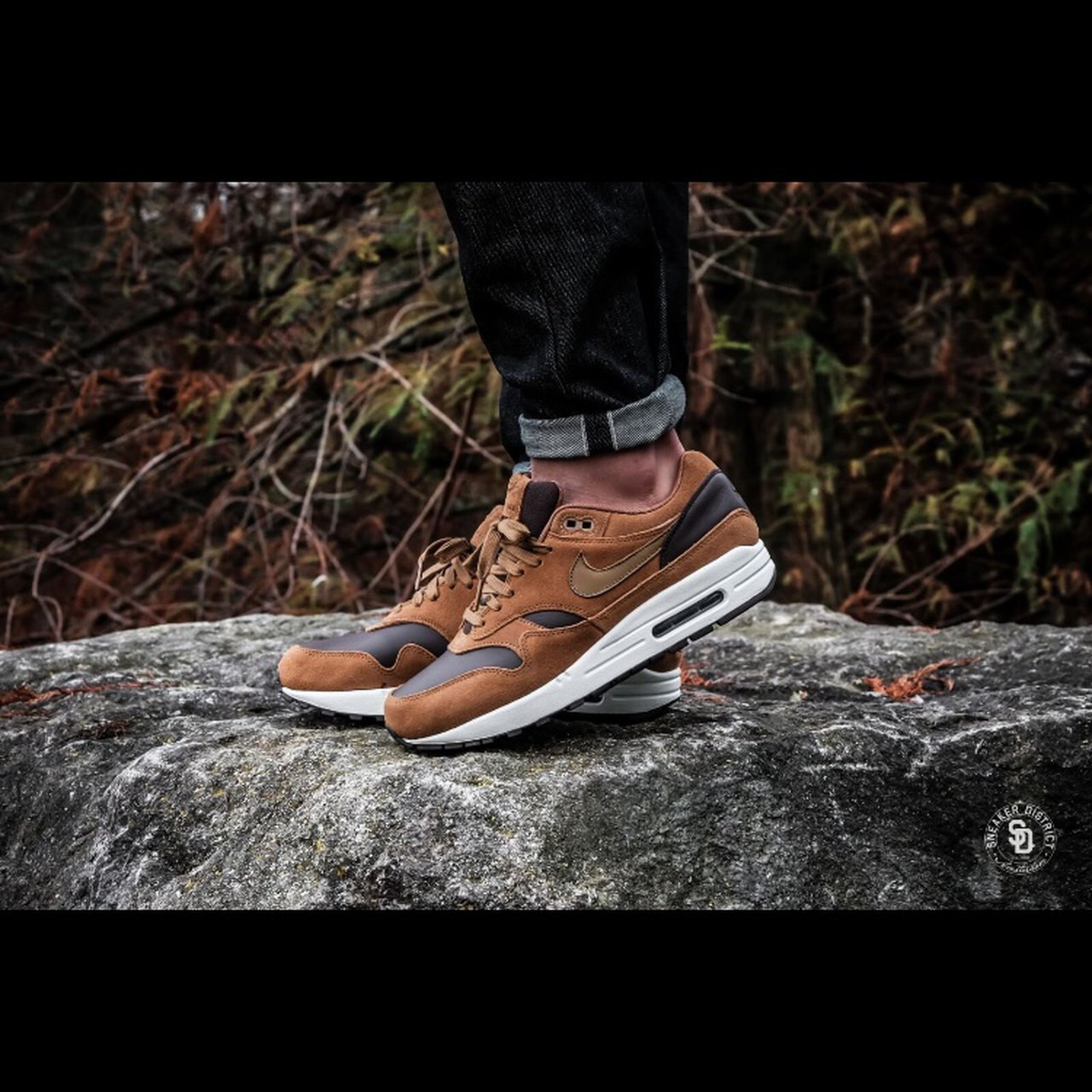 323894db1879d4 Nike Air Max 1 Premium Leather Ale Brown Golden Brown. Size - Depop