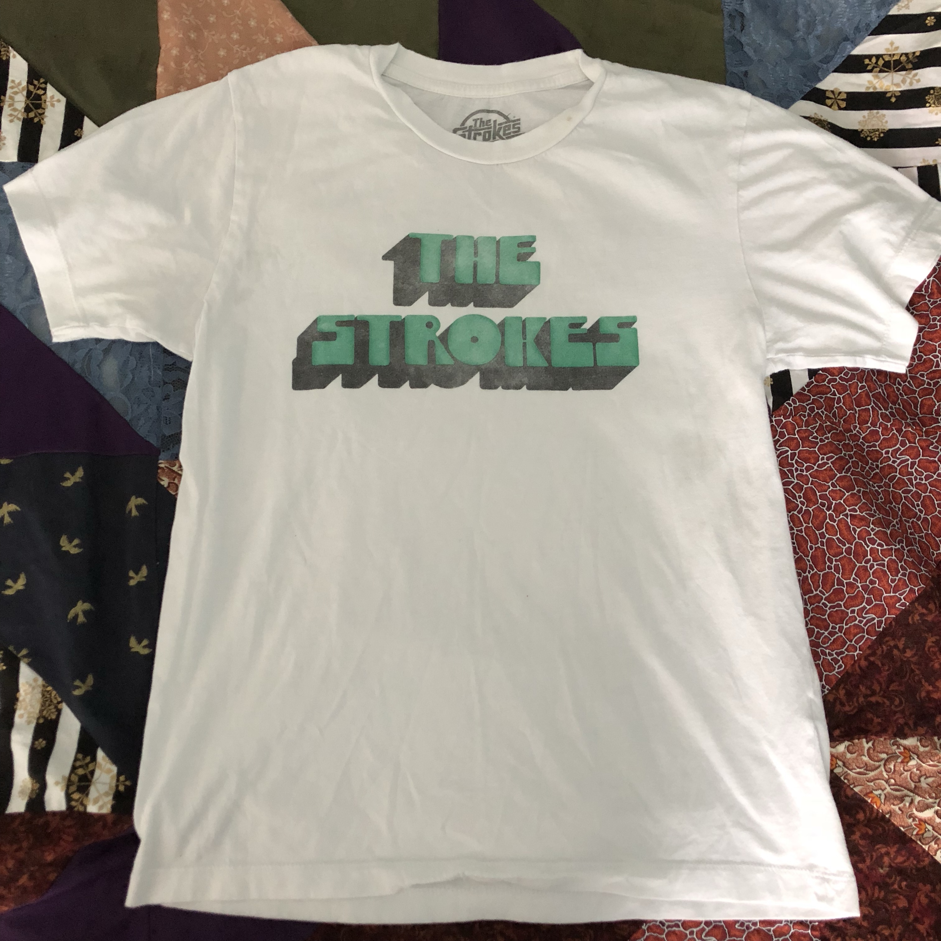 11ee46cdbeb5 hannahshick. Lewisville, United States. The Strokes official merch t shirt. Unisex  size ...