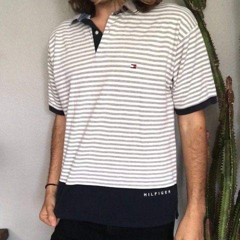 b08526b1 @maverickocean. last year. Jupiter, United States. Men's Vintage Tommy  Hilfiger polo with embroidery