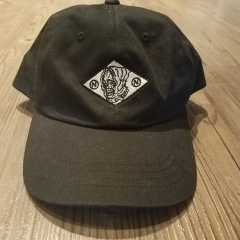 3422aa7a0a1 Nothing Nowhere Reaper logo dad hat. Gently worn. Will wash - Depop