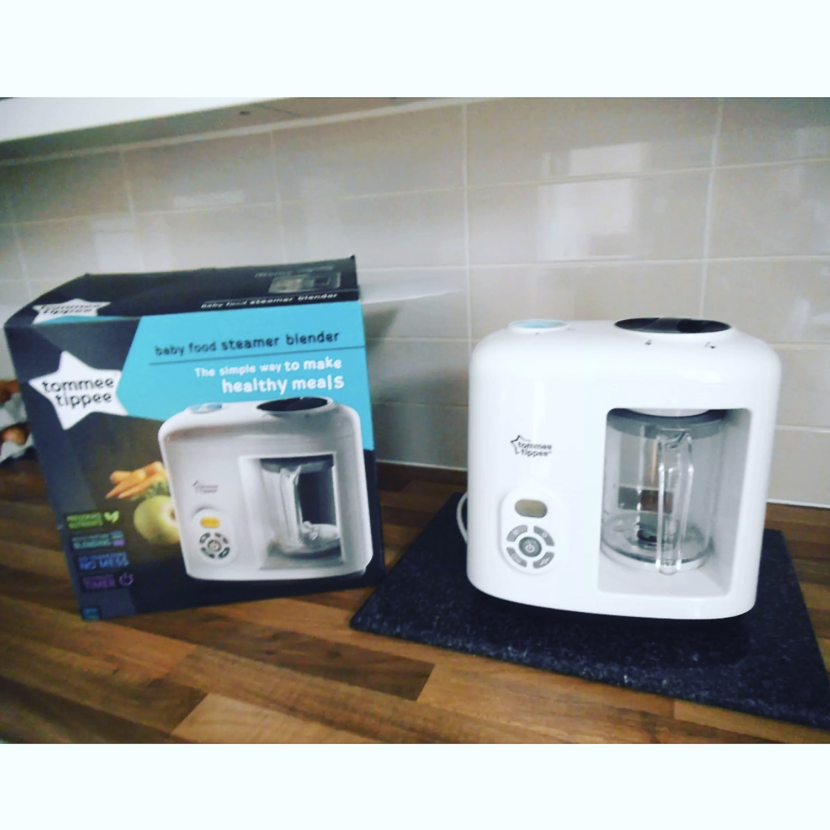 Immaculate Condition Tommee Tippee Baby Food Steamer