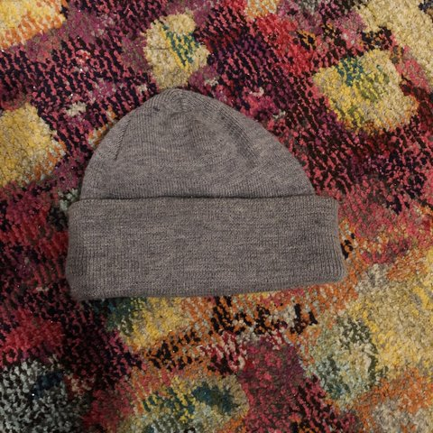 463835b46c7 target grey beanie   skully perfect for the cold or if u lol - Depop