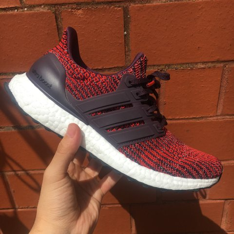 0a83341c5f9 Exclusive Adidas Ultraboost 4.0 🔥 Colour - Noble red   6 a - Depop