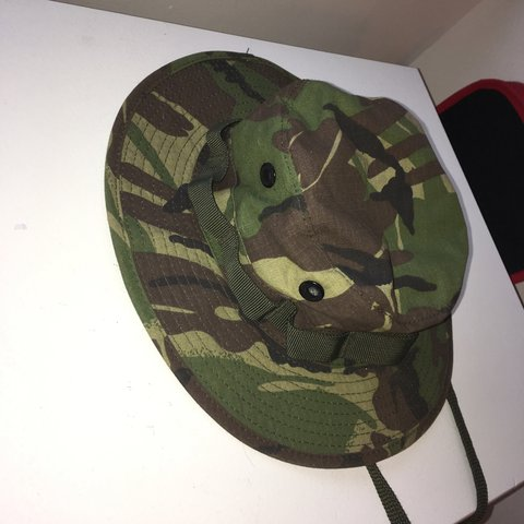 8a848d442fa7cf Military scout hat. String for carrying. Can be worn for or - Depop