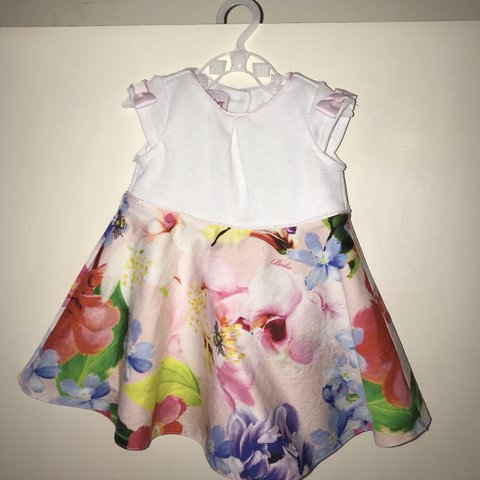 975497eea baby girl Ted Baker dress. Worn a few times. Size 3-6 £8 - Depop