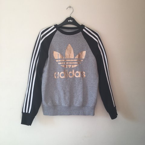 rose gold adidas sweater
