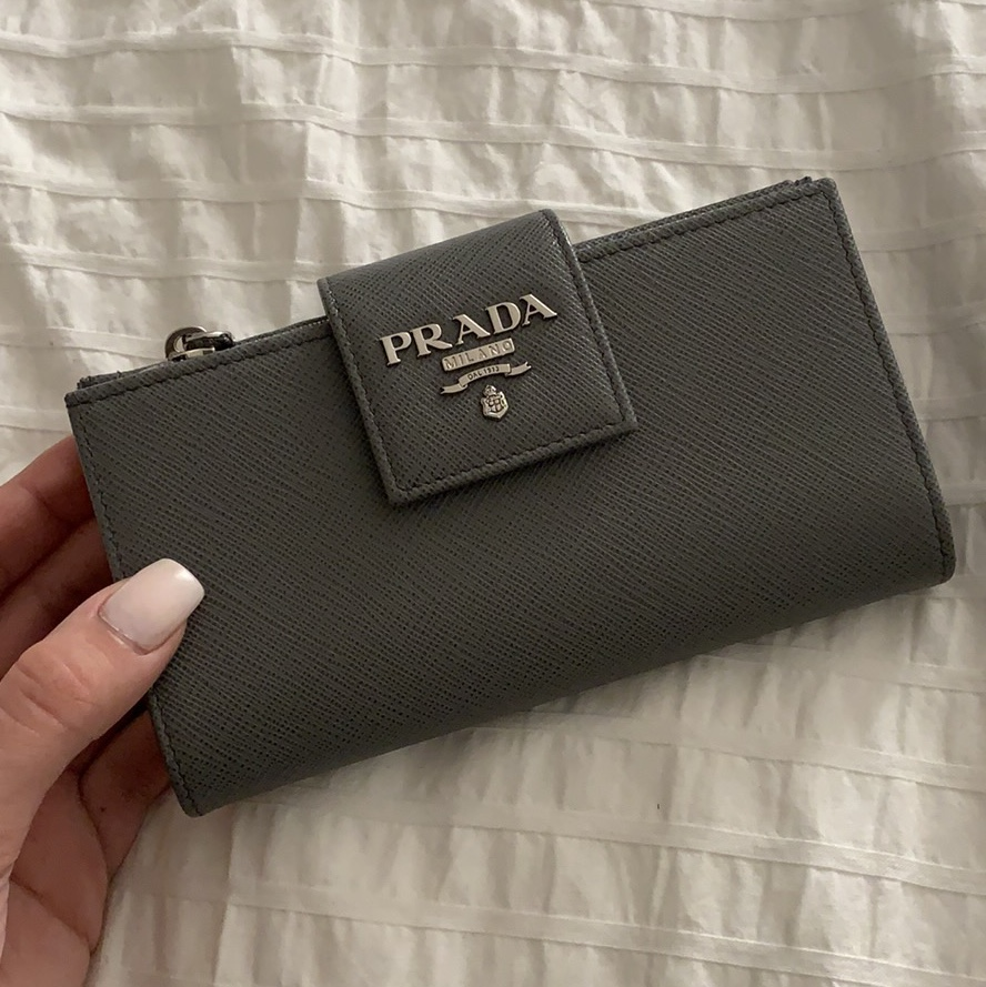 cheap sale running shoes rock-bottom price Prada Medium #Saffiano Leather Wallet NEVER USED... - Depop