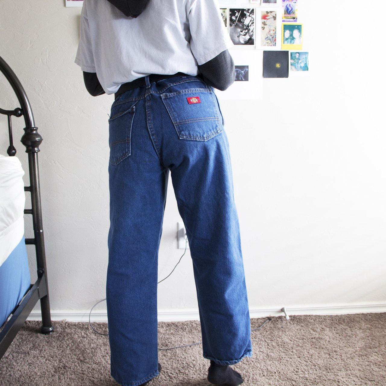 f3ffa237fc7bf VINTAGE HIGH WAISTED DICKIES JEANS!!! these