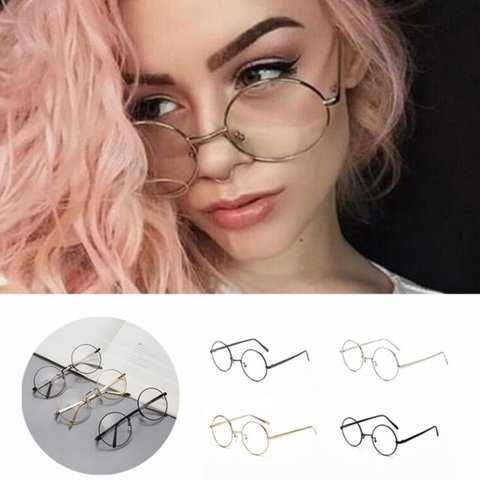61f20a16eb ROSE GOLD ROUND VINTAGE GLASSES  Color  Rose retro round - Depop