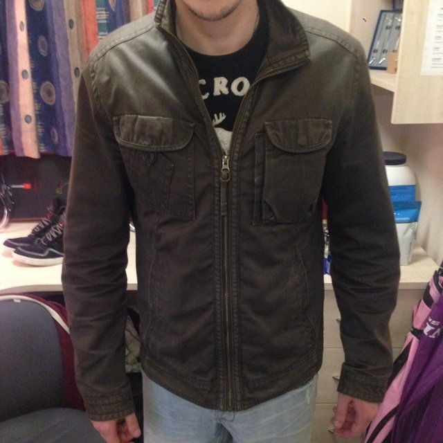 432de97afd4f Men s Khaki Ted Baker jacket size 3 (medium I think) still - Depop
