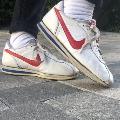 sports shoes 6d6a8 16180 Red White and Blue Nike- 0