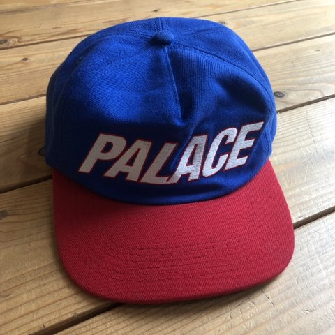 0acc172af2e Palace cap in blue green red black white Acrylic wool at the - Depop