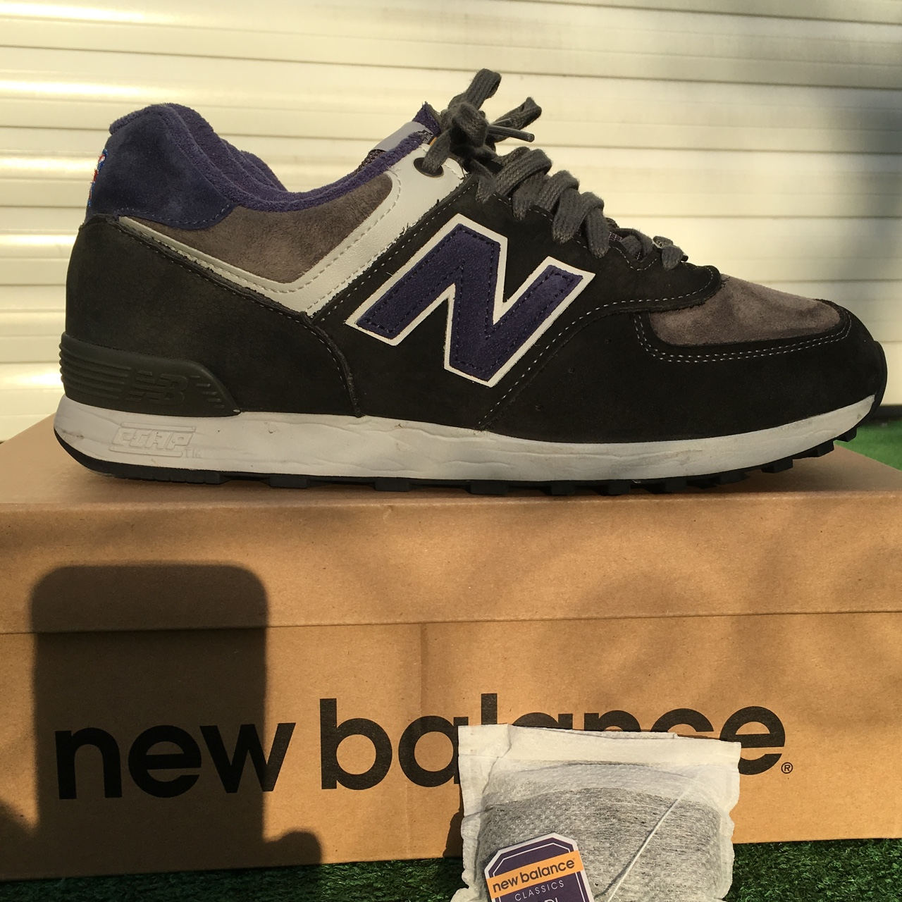 innovative design b8b65 57204 New Balance Trainers 576 'Earl Grey Tea Pack' 10/10... - Depop