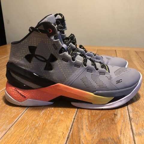 ca6d5ef6ddc Under Armour Steph Curry (Golden State Warriors) SC2  Iron - Depop