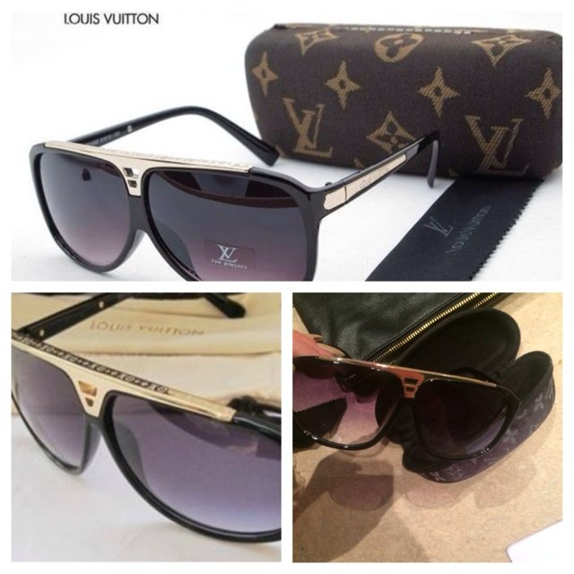07cc455aef8 Louis Vuitton replica sunglasses. £25 with postage. Message - Depop