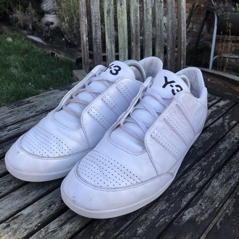 00ca0a9310bb8 Adidas Y3 Honja classic low trainers -Size 10 -7 10 2010 a - Depop