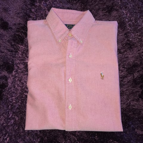 001e41ce @alexbintley. last year. Ellesmere Port, United Kingdom. Polo Ralph Lauren  pink oxford shirt