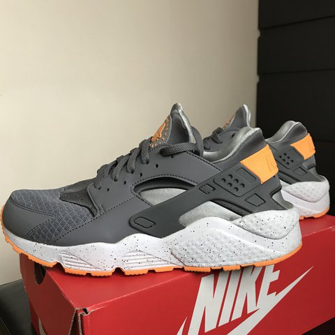 online store 5369f 79790  joshimbo. last year. London, United Kingdom. Nike Air Huarache • Excellent  Condition • Deadstock Colour  Cool Grey Atomic Mango
